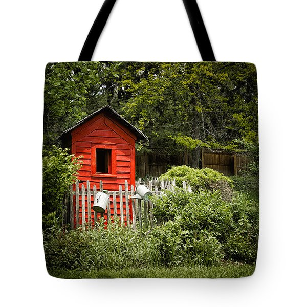 Garden Still Life Tote Bag by Margie Hurwich