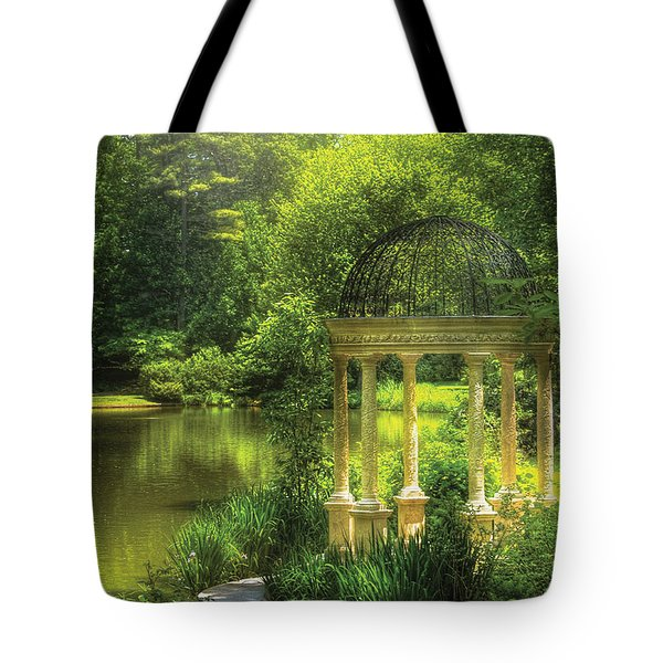 Garden - The Temple of Love Tote Bag by Mike Savad