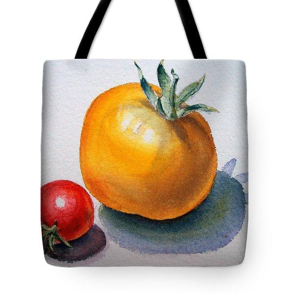 Garden Tomatoes Tote Bag by Irina Sztukowski