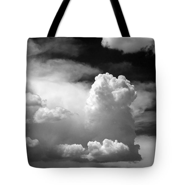 Garfield in the skies Tote Bag by Christine Till