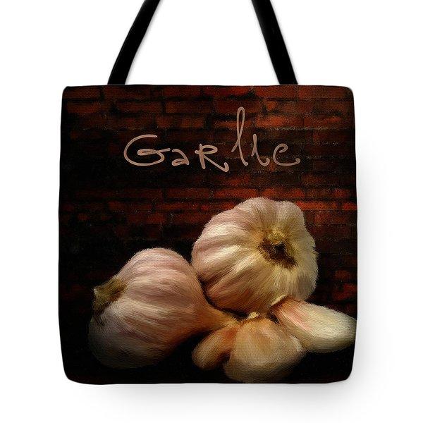 Garlic II Tote Bag by Lourry Legarde