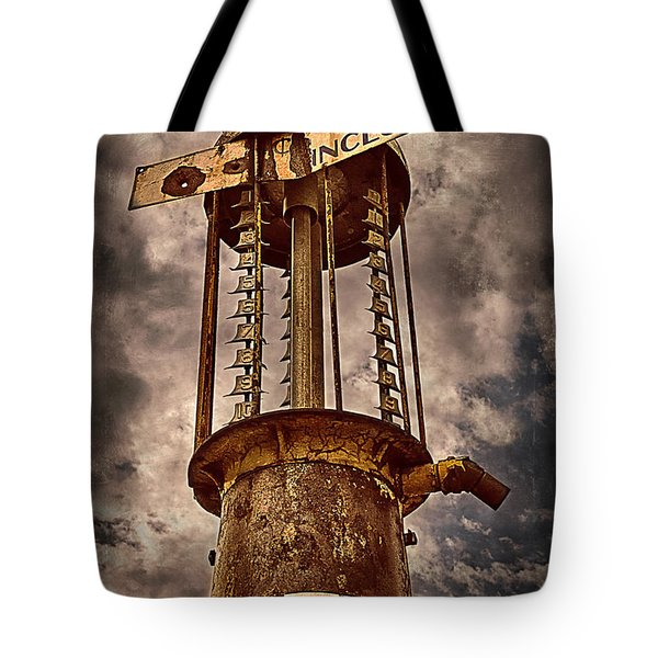 Gassing Up In Jerome Tote Bag by Priscilla Burgers