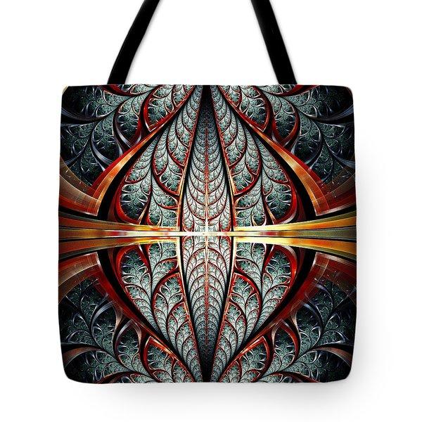 Gates Of Night Tote Bag by Anastasiya Malakhova