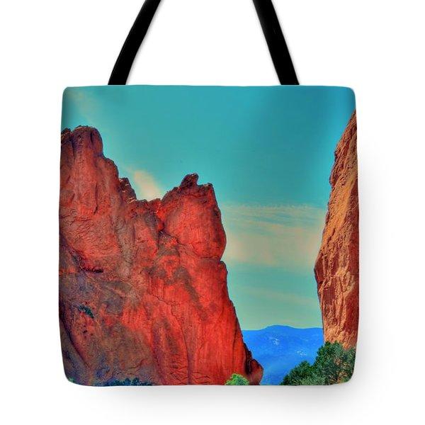Gateway Rock Tote Bag by Kathleen Struckle