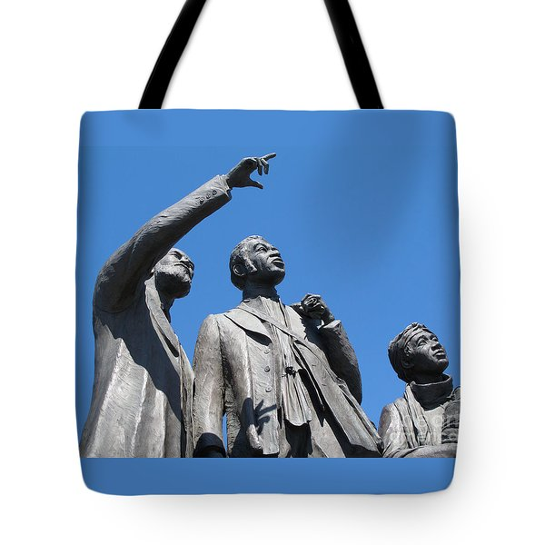 Gateway To Freedom - 1 Tote Bag by Ann Horn