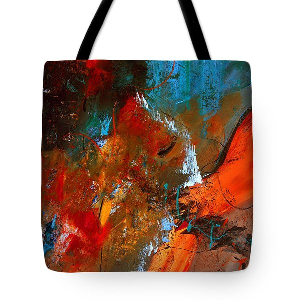 Gather The Wheat Tote Bag by Ruth Palmer
