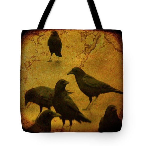 Gathering Tote Bag by Gothicolors Donna Snyder