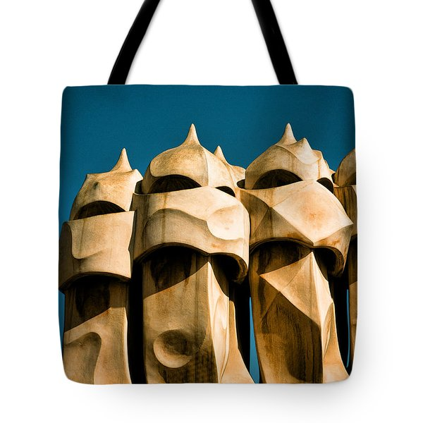 Gaudi's Soldiers Tote Bag by Joanna Madloch