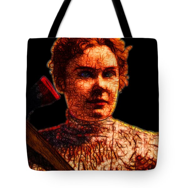 Gave Her Father Forty Whacks - Black Tote Bag by Wingsdomain Art and Photography