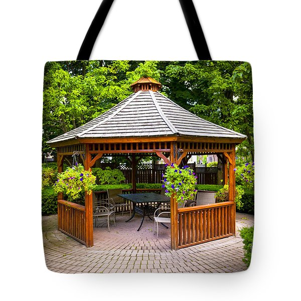 Gazebo  Tote Bag by Elena Elisseeva