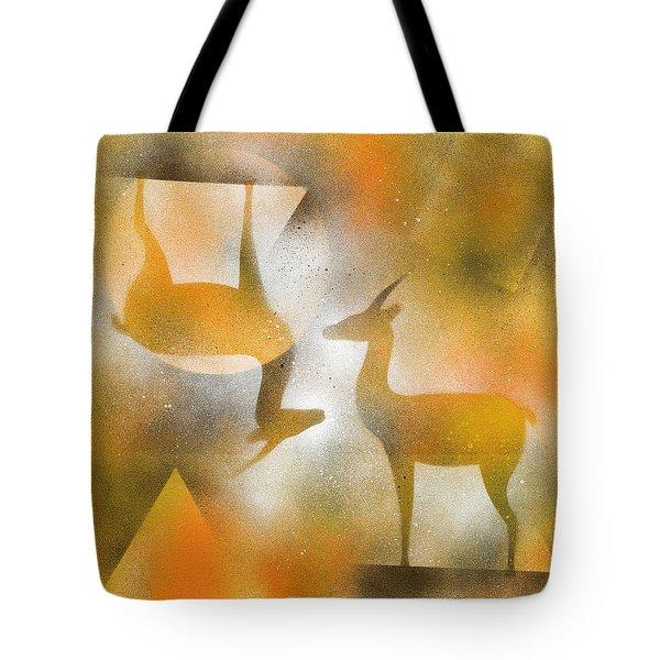 Gazelles Tote Bag by Hakon Soreide