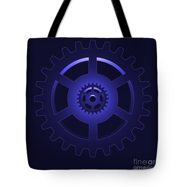 gear - cog wheel Tote Bag by Michal Boubin
