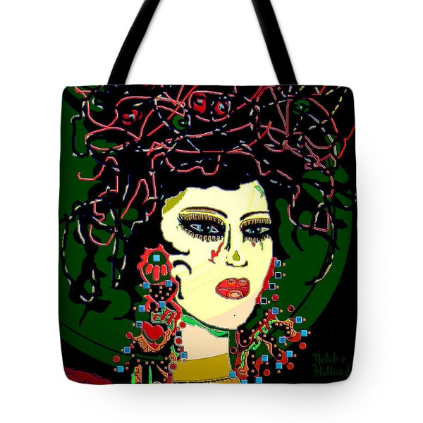 Geisha 6 Tote Bag by Natalie Holland