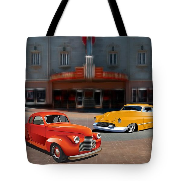 Gem Theater - Kansas City Missouri  Tote Bag by Liane Wright