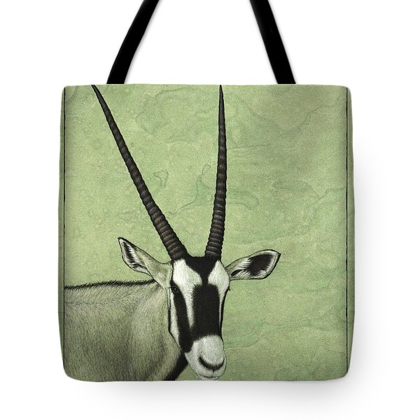 Gemsbok Tote Bag by James W Johnson