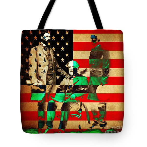 General Robert E Lee Tote Bag by Wingsdomain Art and Photography