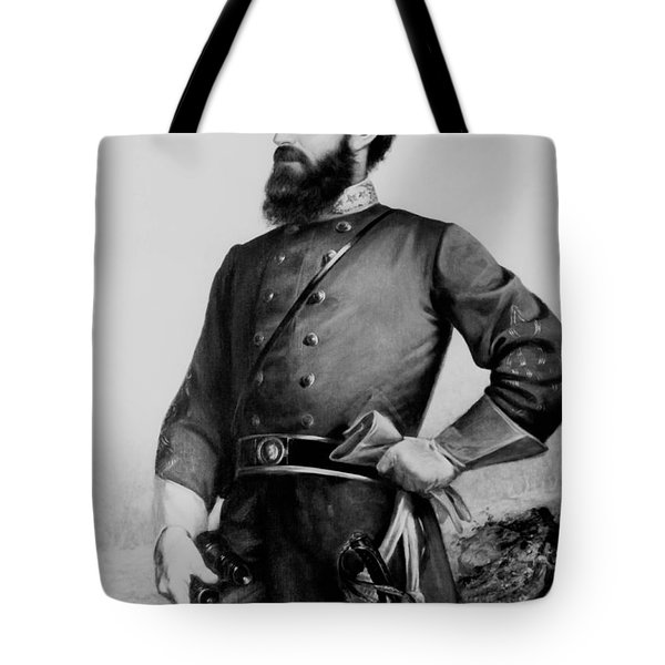 General Thomas Stonewall Jackson Tote Bag by Mountain Dreams