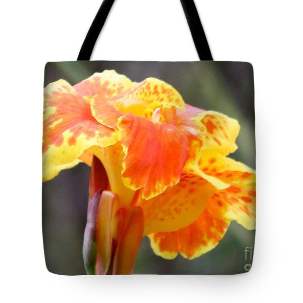 Gentle Awakening Tote Bag by Carol Groenen