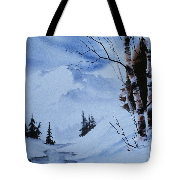 Gentle Mountains Tote Bag by Teresa Ascone
