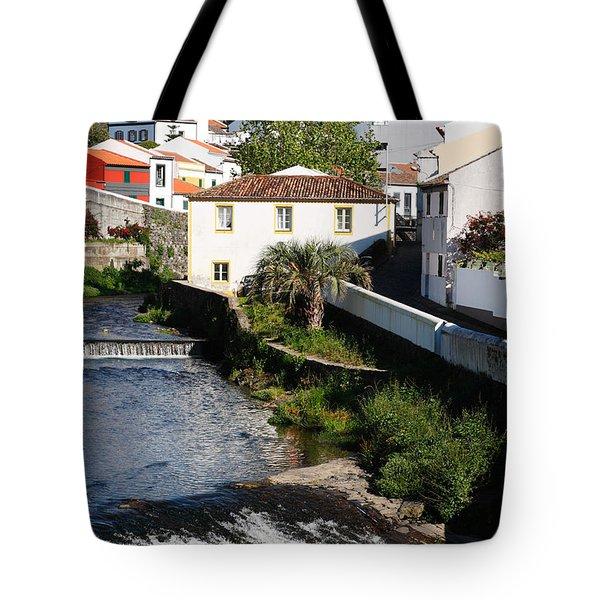 Gentle Stream Of Water Tote Bag by Gaspar Avila