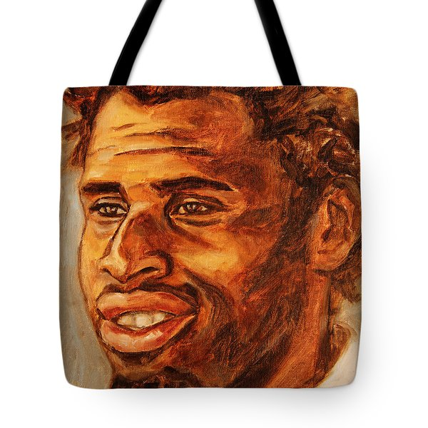Gentleman with Goatee Tote Bag by Xueling Zou