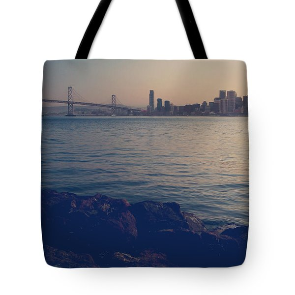 Gently the Evening Comes Tote Bag by Laurie Search