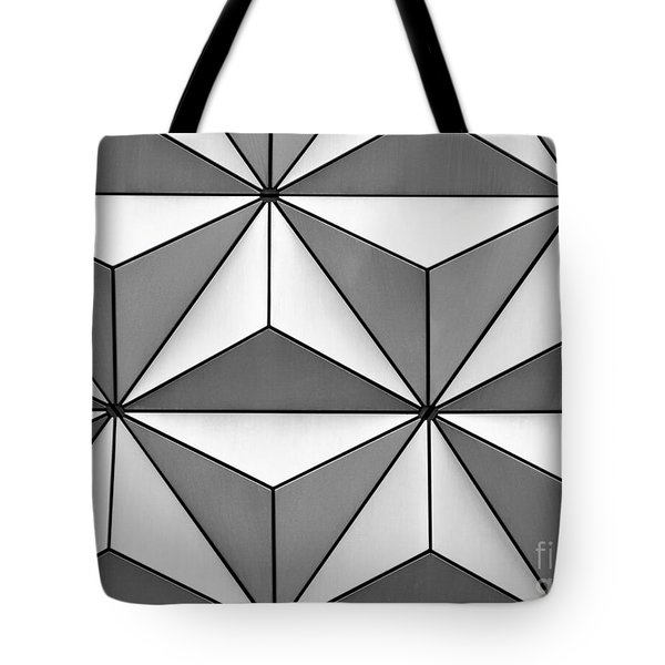 Geodesic Pyramids Tote Bag by Sabrina L Ryan