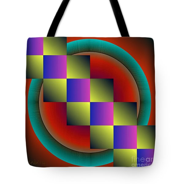 Geometrca 203 Tote Bag by Nedunseralathan R