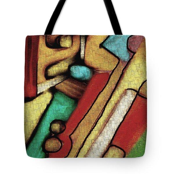 Geometrca 292 Tote Bag by Nedunseralathan R