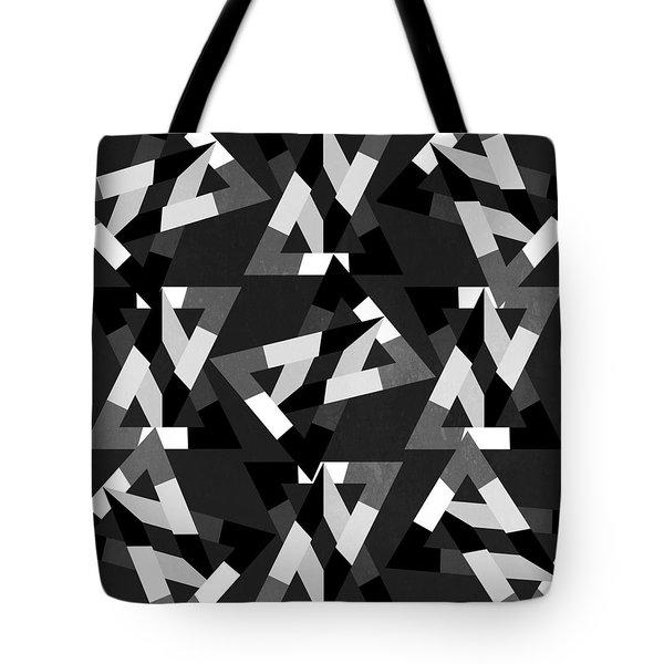 Geometric 12 Tote Bag by Mark Ashkenazi