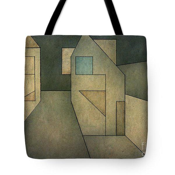 Geometric Abstraction II Tote Bag by David Gordon