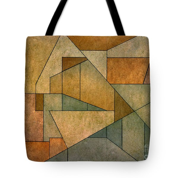 Geometric Abstraction IV Tote Bag by David Gordon