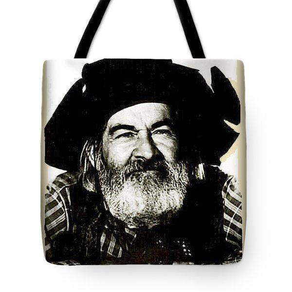 George Hayes Portrait #1 Card Tote Bag by David Lee Guss
