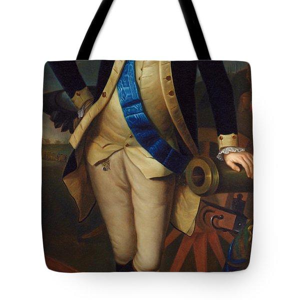 George Washington Tote Bag by Charles Wilson Peale