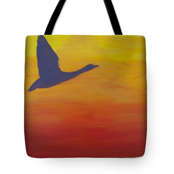 Georgian Bay Sunset Tote Bag by Alex Banman