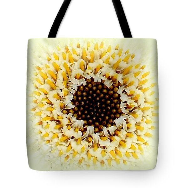 Gerbera Closeup Tote Bag by The Creative Minds Art and Photography