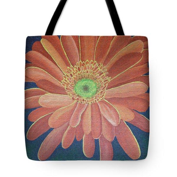 Gerbera Tote Bag by Megan Washington