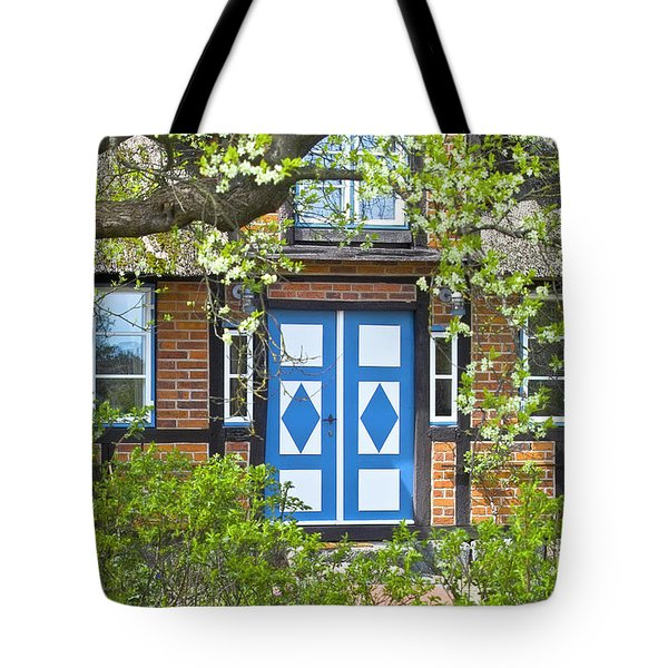 German timber-framed country house Tote Bag by Heiko Koehrer-Wagner