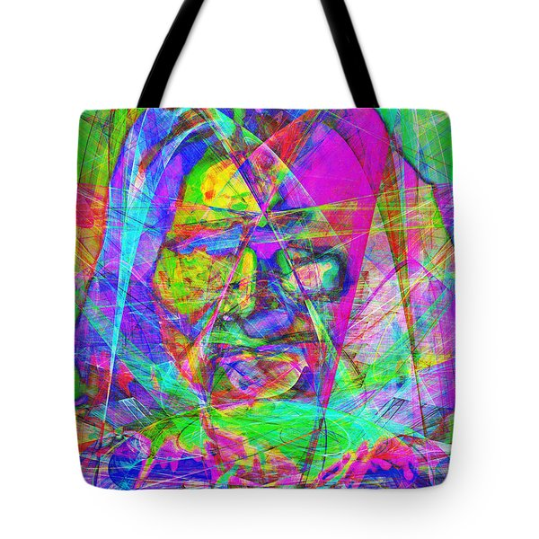 Geronimo 20130611 Tote Bag by Wingsdomain Art and Photography