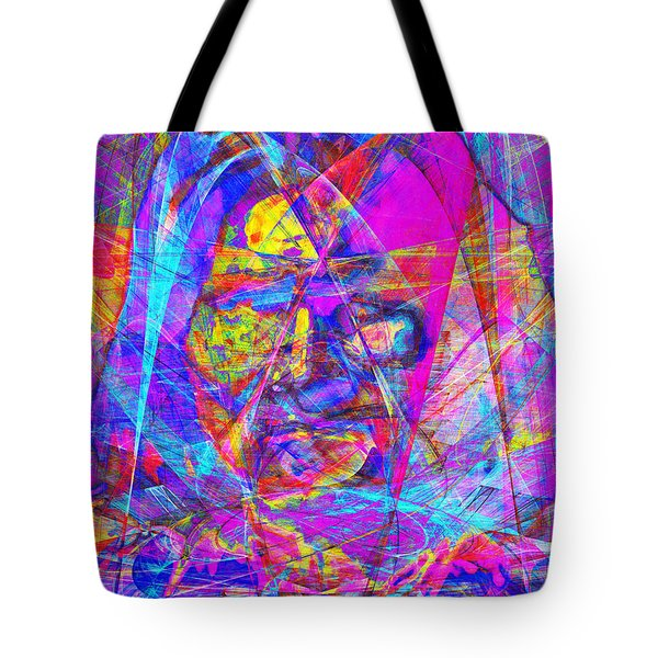 Geronimo 20130611gre-p180 Tote Bag by Wingsdomain Art and Photography