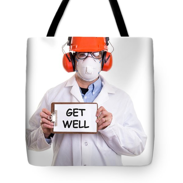 Get Well Tote Bag by Edward Fielding
