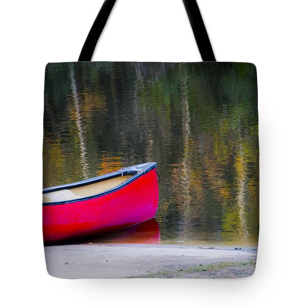 Getaway Canoe Tote Bag by Carolyn Marshall