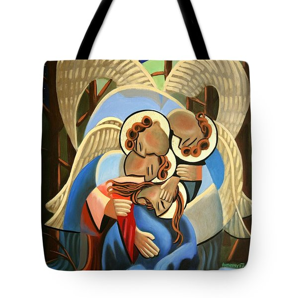 Gethsemane The Hour Is Near Tote Bag by Anthony Falbo