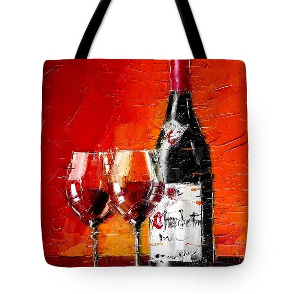 Gevrey-Chambertin Tote Bag by MONA EDULESCO