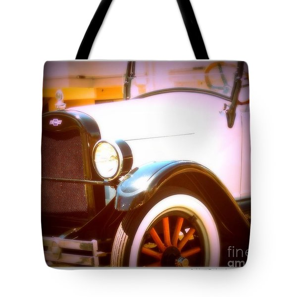 Ghost From The Past Tote Bag by Bobbee Rickard