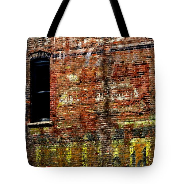Ghost Sign 13469 3 Tote Bag by Jerry Sodorff