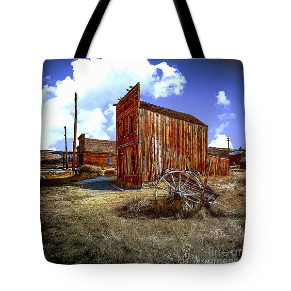 Ghost Towns In The Southwest Tote Bag by Bob and Nadine Johnston