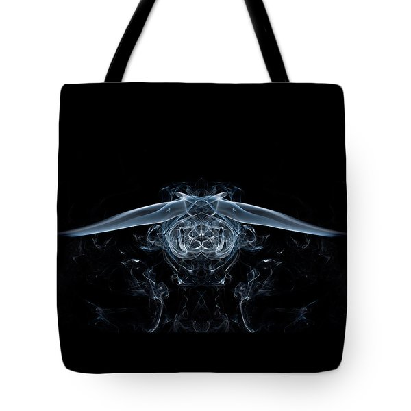 Ghostly Owl Tote Bag by Steve Purnell