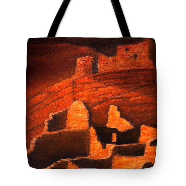 Ghosts Of White House Ruins Tote Bag by Jerry McElroy