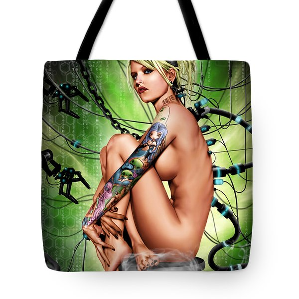 Ghosts Tote Bag by Pete Tapang